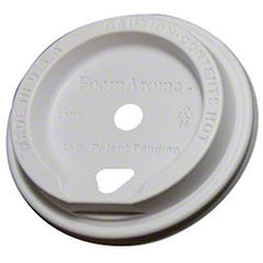 FoamAroma® Coffee Lid - White ITEM # FMA-L1M1-PW