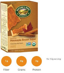 NATURE'S PATH Brown Sugar Maple Cinnamon Toasted Pastries (Frosted) - 12/11oz