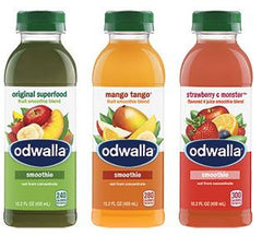 Odwalla Juice Smoothie Blend Variety Pack, 10/15.2 oz
