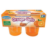 Cool Cups Natural Orange Gel - 24/4oz  (Vegan)