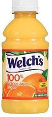WELCH'S 100% Orange Juice  24/10oz PET