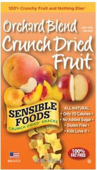 Sensible Foods Crunch Orchard Blend Dried Fruit -  12/1.3 oz