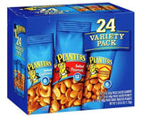 Planters Variety Pack Nuts 24/1.75 & 1.5 Oz Ounce Bags