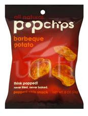 Pop Chips Barbeque Chips - 24/0.8 oz