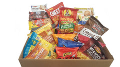 Snack Sampler Box 33 Pack Chips and Cookies