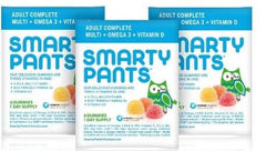 Smarty Pants Gummy Vitamins On-The-Go! Adult Complete Multi+Omega3+Vit D