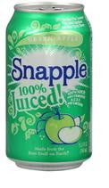 Snapple 100% Juiced Green Apple Blend 11.5 oz