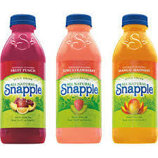 Snapple Fruit Variety (All 3 Flavors) 24/20 oz