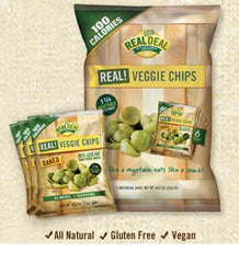 The Real Deal  Baked Veggie Chips  12 / 6 / 0.833 oz