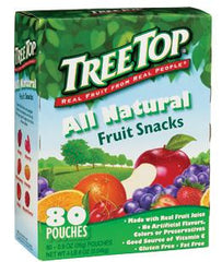 TreeTop All Natural Fruit Snacks, 80/0.9 oz