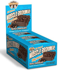 LENNY & LARRY`S Triple Chocolate Muscle Brownie®- 12/2.82oz