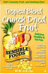 Sensible Foods Crunch Dried Tropical Blend Fruit - 12/1.3 oz