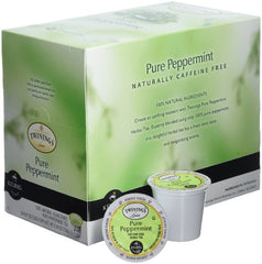 Twinings Pure Peppermint TEA 48-Count K-Cups for Keurig