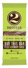 Two Degrees Apple Pecan Bar