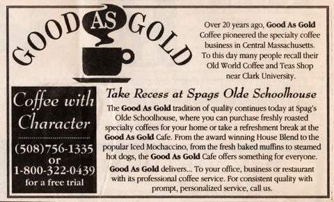 good as gold spags olde schoolhouse