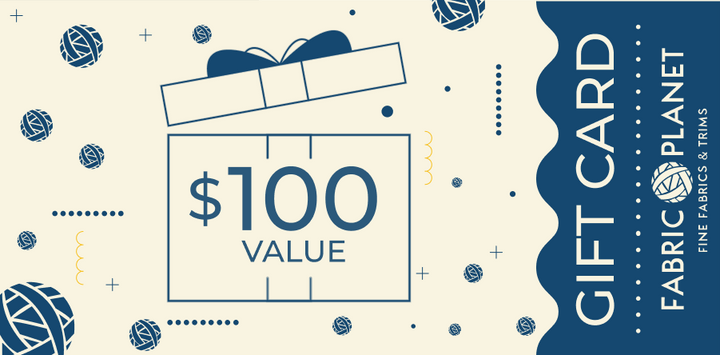 Gift Card $100 - FabricPlanet