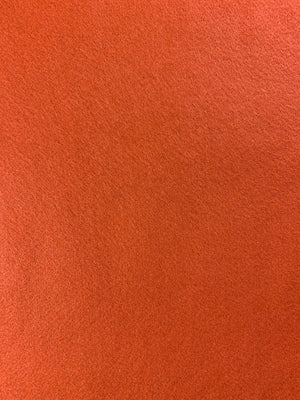 Orange Acrylic Felt - FabricPlanet