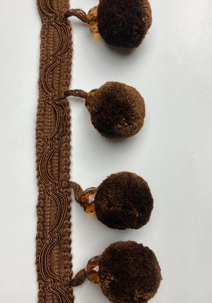 Brown Large Pompom - FabricPlanet