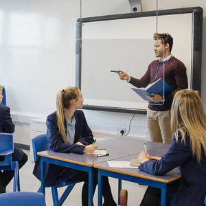 "HANGING SNEEZE GUARD 24""X24"""