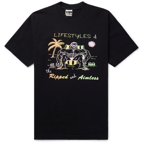 lifestyles-of-the-ripped-and-aimless-printed-cotton-jersey-t-shirt