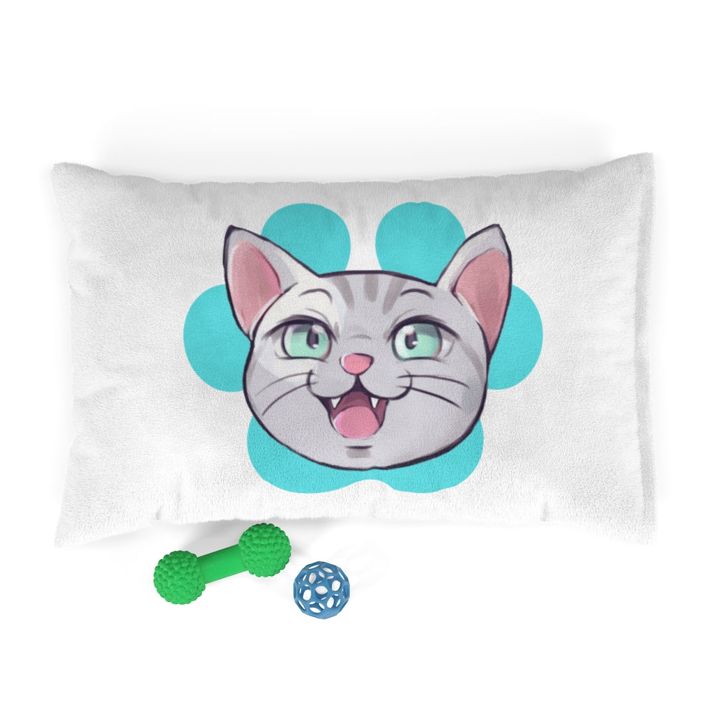 Pet Schitt Kitten Face - Fleece Pet Bed | PetSchitt.com