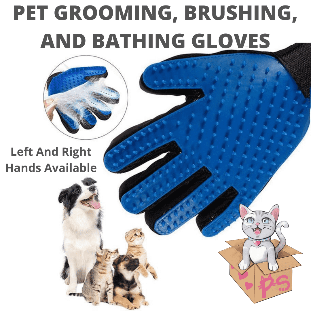 Pet Grooming, Brushing, and Bathing Gloves | PetSchitt.com
