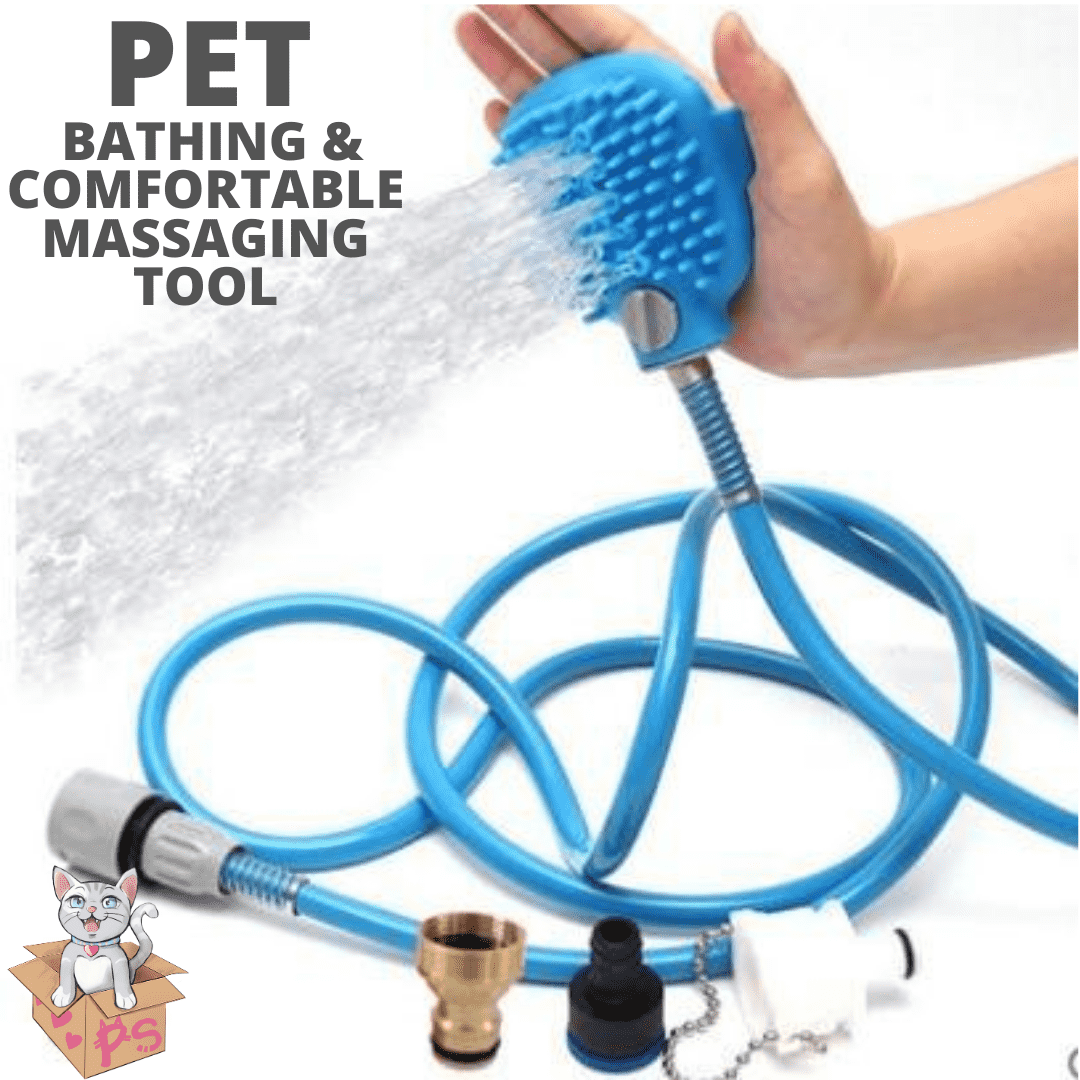 Pet Bathing And Comfortable Massaging Tool | PetSchitt.com