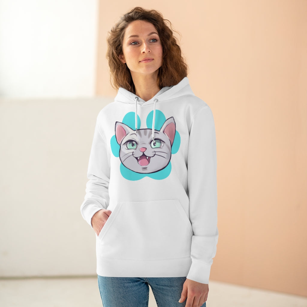 Pet Schitt Kitten Head Logo Unisex Hoodie | PetSchitt.com