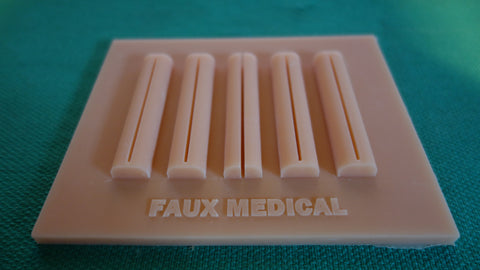 FAUX Soft Tissue Suture Pad for Laparoscopic Training