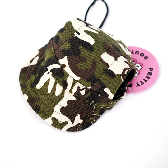 Camo Hat - Pretty Pawfect Boutique