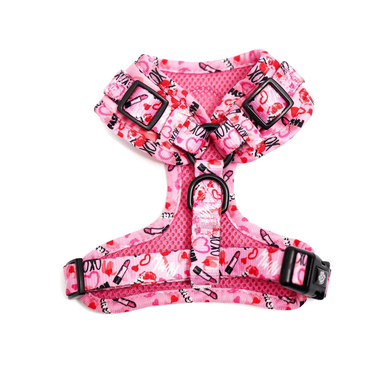 Adjustable Harness - Pucker Up - Pretty Pawfect Boutique