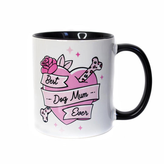 Mug - Best Dog Mum Ever Stay Wild