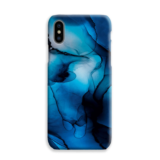 Phone Case - Marble Moments Midnight Blue
