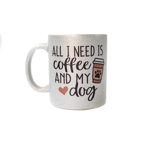 Mug - Coffee and my dog - Pretty Pawfect Boutique