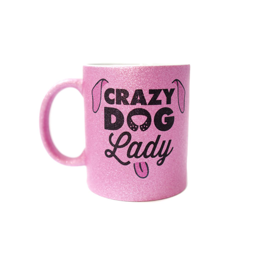 Mug - Crazy Dog Lady - Pretty Pawfect Boutique
