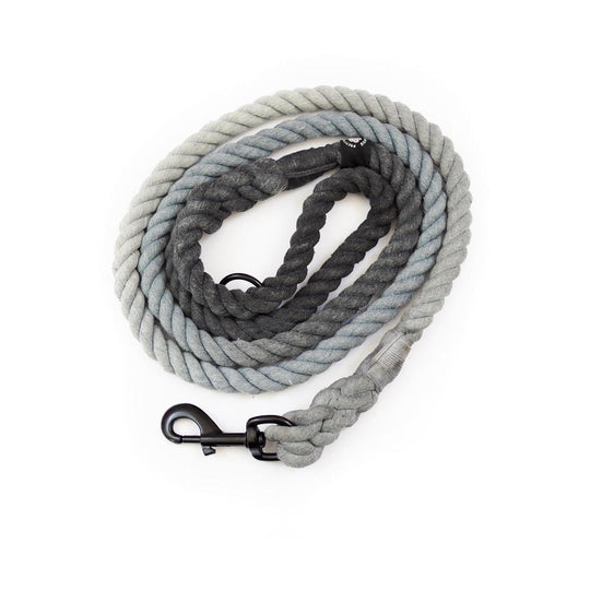 Rope lead - Ombre Grey