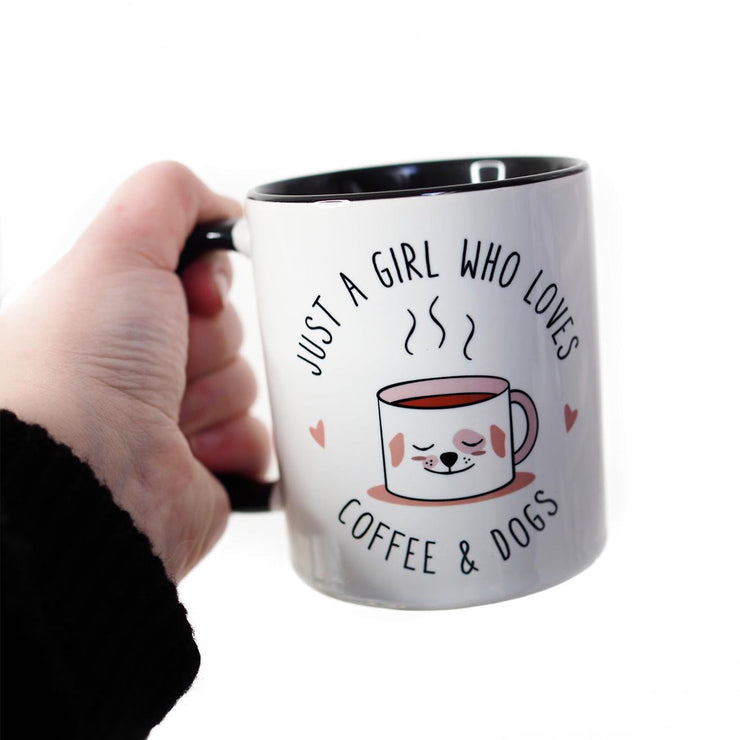 Mug - Just A Girl Who Loves Coffee And Dogs