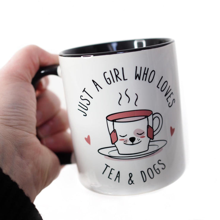 Mug - Just A Girl Who Loves Tea And Dogs