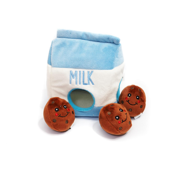 Burrow Toy - Milk N Cookies - Pretty Pawfect Boutique