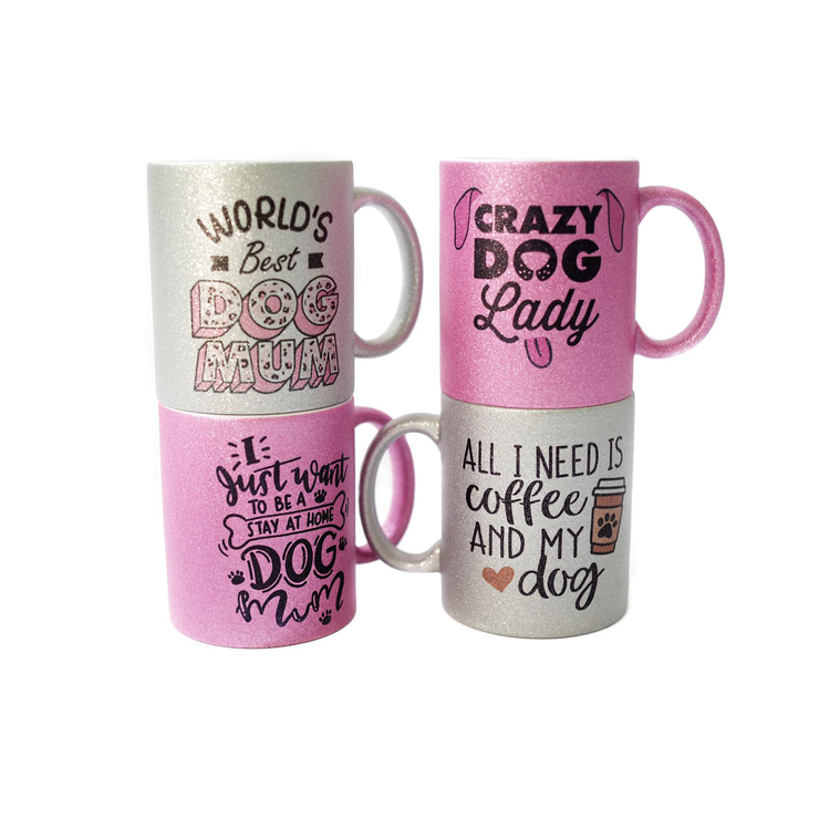 Mug - World's Best Dog Mum - Pretty Pawfect Boutique