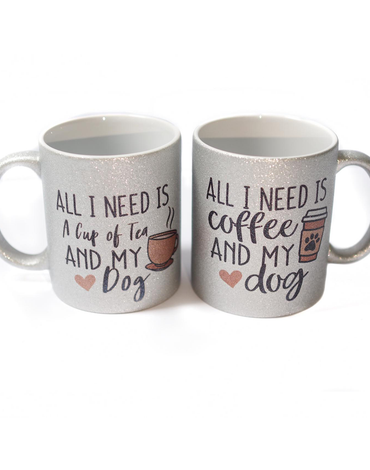 Mug - Tea and my dog - Pretty Pawfect Boutique