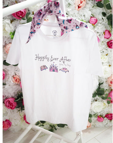 T-shirt - Happily Ever After With My Dogs