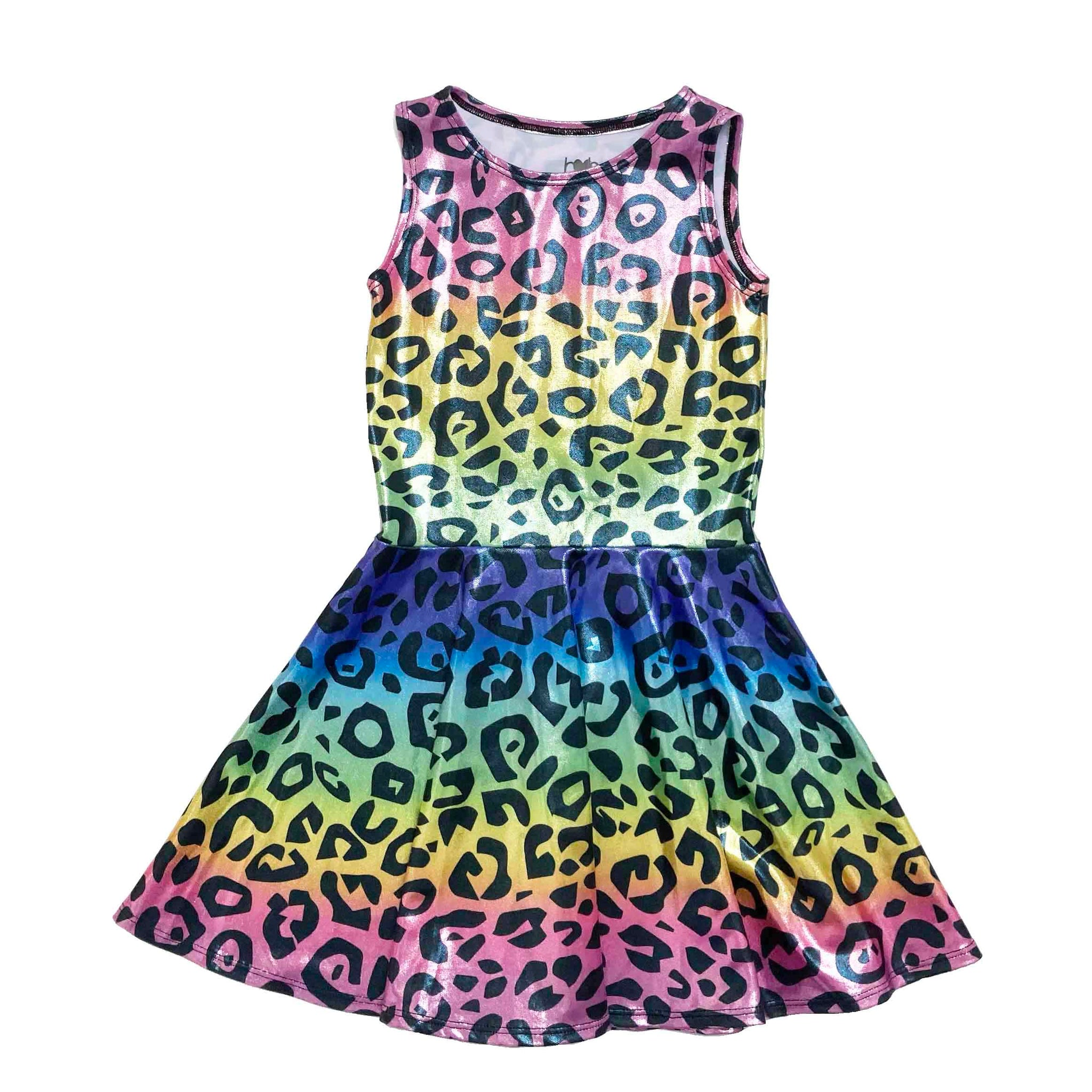 HARPER AND HOPE LEOPARD DRESS 5-6 YEARS