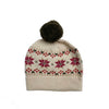 MARIE CHANTAL MERINO WOOL FAIRISLE HAT 1-2 YEARS