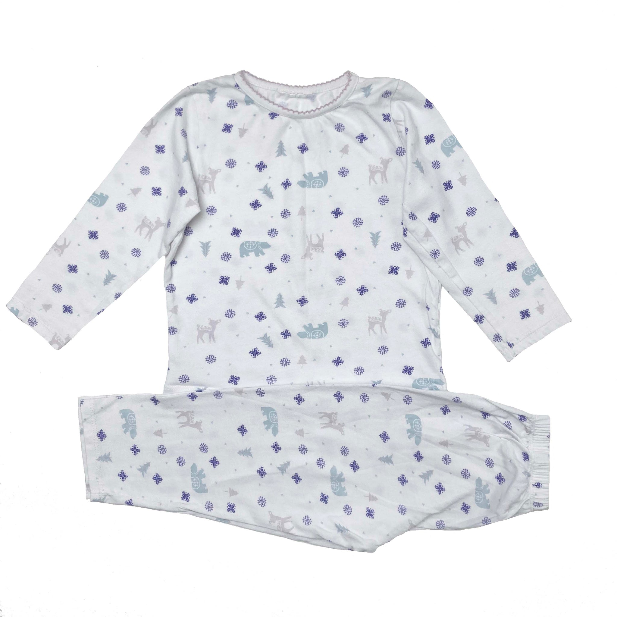 THE LITTLE WHITE COMPANY PYJAMAS 2-3 YEARS