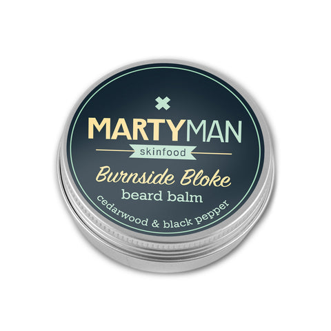 Burnside Bloke beard balm - cedarwood & black pepper