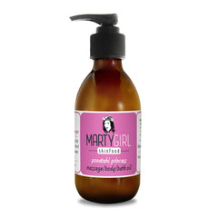 ponatahi princess massage/body/bath oil - rose geranium & black pepper