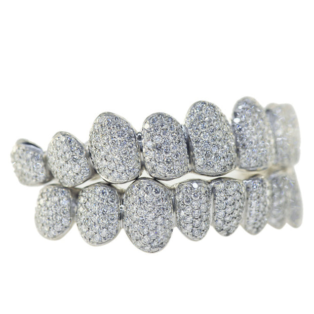 Hand Prong Set Diamond Grill