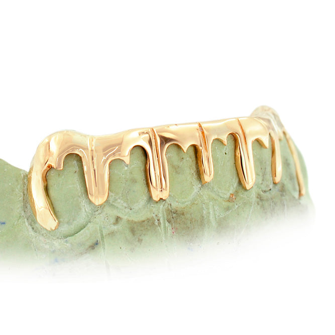 6 Piece Dripping Gold Grill