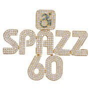 Spazz60 Diamond Custom Pendant